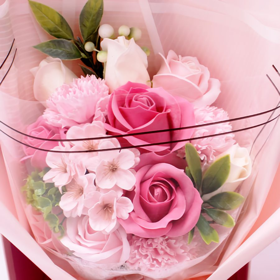Buchete din flori de sapun